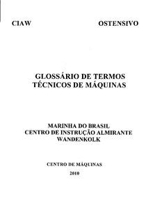 GLOSSARIO 2010