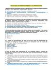 Questionário de Psicol. do Des. e da Aprendizagem