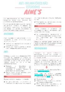 AINES - Anti-inflamatórios não esteroidais