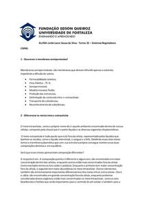 Membrana Plasmática - CDP01