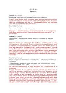 AD1 Linguística I   2018 2   GABARITO (1)