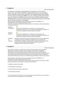 ATIVIDADE 03 RESPONDIDA GESTÃO DE PROJETOS