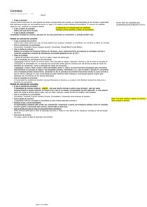 Anotações Resumidas de Contratos