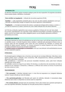 Infecções das vias aéreas superiores (IVAS)