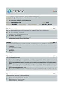 AV2 - Fundamentos da Economia
