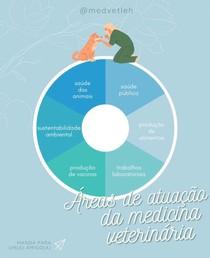 áreas de atuação da medicina veterinária