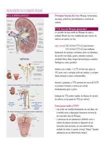 resumo - avaliacao da funcao renal