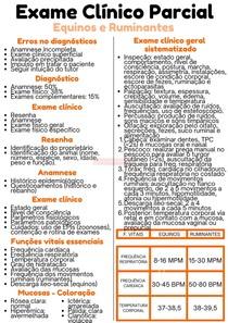 Exame clínico parcial | PV I
