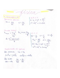 Física - Cinemática