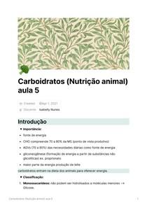 Carboidratos - aula_5