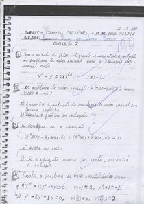 Prova Resolvida Eq. Diferenciais: Fator Integrante, Método de Frobenius, Separável