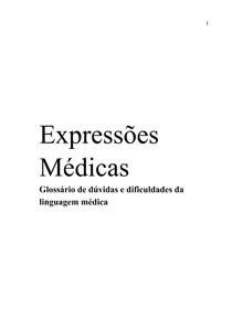 Dicionário de Expressões Médicas