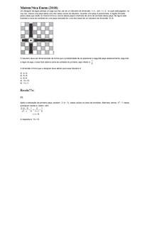 Matemática Enem (2018) - QUESTÃO 154 Caderno Azul