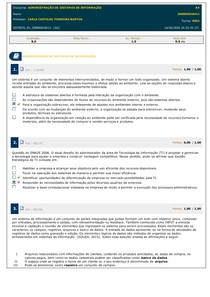 administração de informação