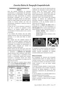 Bases da Tomografia Computadorizada