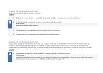 APOL 04 ADMINISTRAÇÃO DE PROJETOS