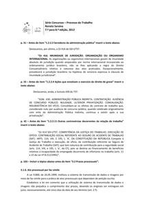 Atualização ProcTrab Saraiva 7a-8a ed