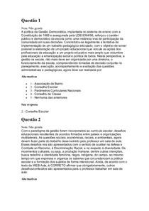 Av2 Pedagogia Em Espaços Escolares e Não Escolares