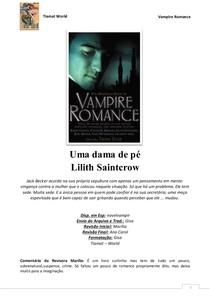4d5380633 Lilith Saintcrow UMA DAMA DE PE - Diversos - 2