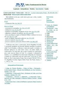 DJi - Contravenção - Contravenção Penal