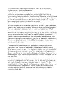 Discurso sobre a Reforma da Previdência (PEC N° 287)