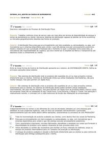 AV2   GESTÃO DA CADEIA DE SUPRIMENTOS