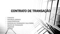 CONTRATO DE TRANSAÇÃO