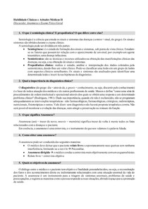 Anamnese e Exame Físico Geral