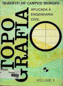 Topografia Aplicada A Engenharia Vol 1; Borges (Marcadores, Fundo Branco)