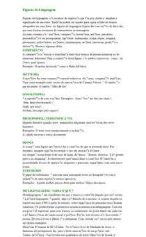 Figuras de Linguagem e Metalinguagem