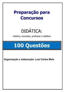 17.SIMULADO   100 QUESTÕES DIDÁTICA com gabarito