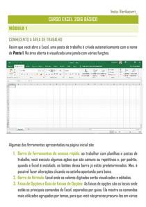 Apostila Excel 2016 Básico