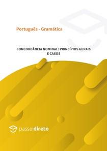 Concordância nominal: princípios gerais e casos especiais
