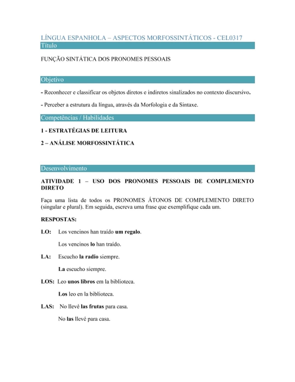 Pre-visualização do material ATIVIDADE ESTRUTURADA ASPC. MORF. - página 1