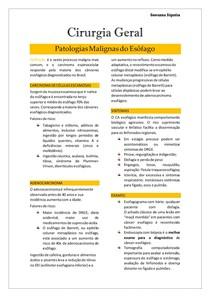 CG- Patologias Malignas do Esôfago