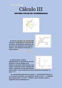 SISTEMA POLAR DE COORDENADAS - Cálculo 3 - assunto da primeira prova - calcular integrais duplas por sistema de coordenadas polares