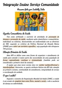 Introdução a Integração Ensino ServiçoComunidade/SUS