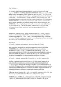 DIREITO TRIBUTÁRIO II - Caso Concreto 4