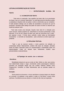 LEITURA E INTERPRETAÇÃO DE TEXTOS