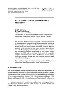 Fuzzy Evaluation of stream sample reability