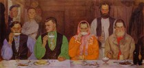 Andrey Ryabushkin  - Tea-drinking