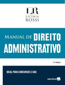 Manual de Direito Administrativo - Licínia Rossi - 2019 -