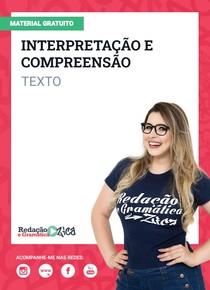 Interpretação e Compreensão - Texto - Profa Pamba