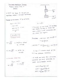 Resumo oscilações harmônicas simples - física II