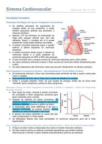 Fisiologia - Circulação Coronariana