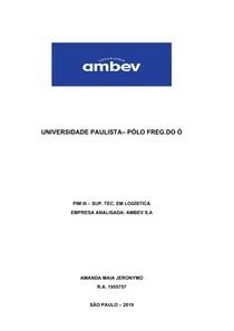 PIM 3 - UNIP - AMBEV