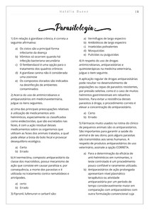 Parasitologia - lista 1