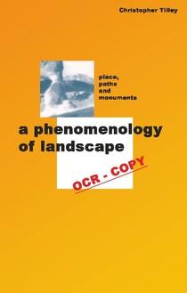 christopher tilley phenomenology of landscape pdf