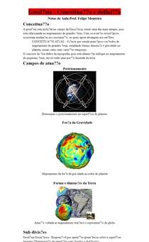 Geodésia - Conceituação e definição