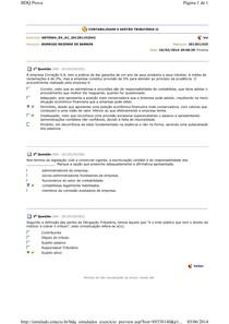 AVALIANDO APRENDIZADO GESTAO TRIBUTARIA II